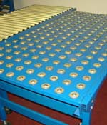 Painted Mild Steel Ball Table for Conveyors