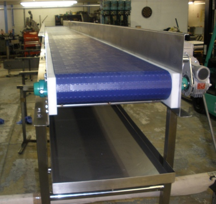 Easy Clean Conveyor with drip tray