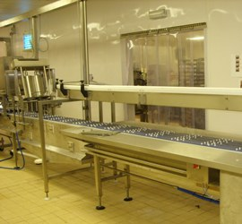 wire belt conveyor system from c-trak