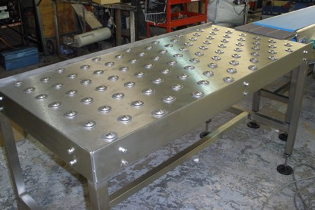 ball table handling conveyor photo