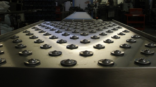 Ball table conveyor system image