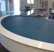 curved conveyor for bends
