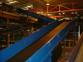 Decline Belt Conveyor