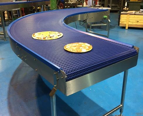 Plastic Belt With Modular Linking Conveyors C Trak Ltd