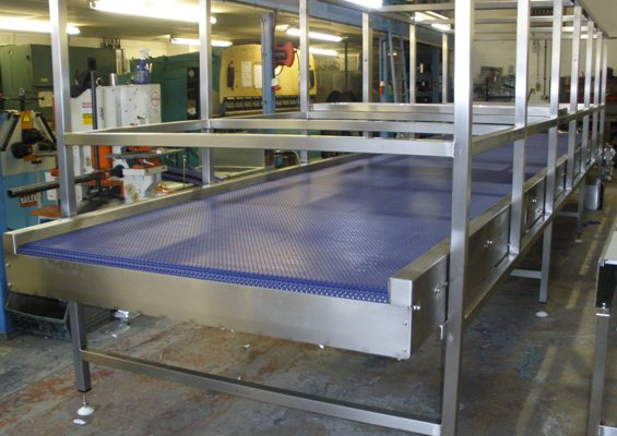 Modular Belt Special Conveyor