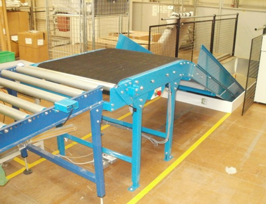 Floor to Floor Swan Neck conveyor
