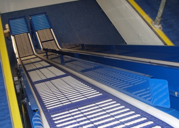 z shape conveyor