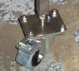 Adjustable Break Castors