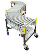 Expanding Power Roller Conveyor