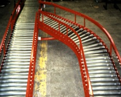 Gravity Roller Conveyors in mild steel