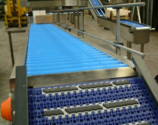 Gravity Roller Conveyor System