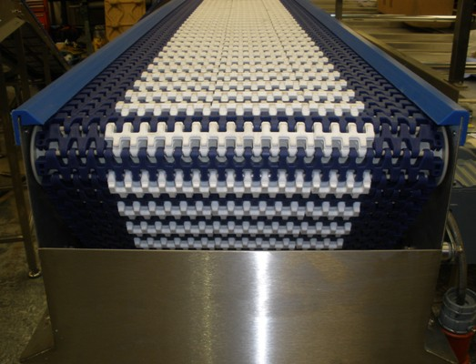 Grip Top Plastic Belt Conveyor