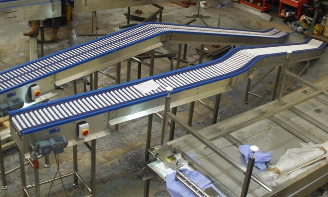 Grip Top Systems Conveyor
