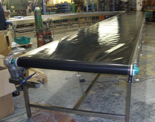 high temperature belt conveyor