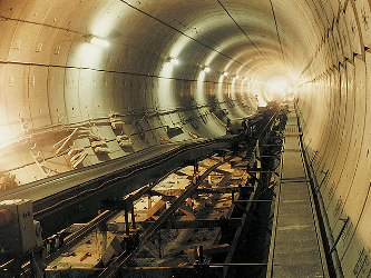 tunneling conveyor