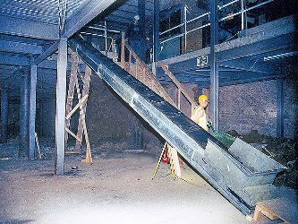 construction work conveyor