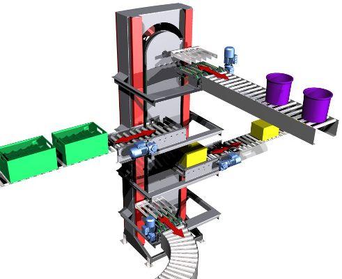 Vertical Conveyors : Vertical Conveyor Lifts Systems UK