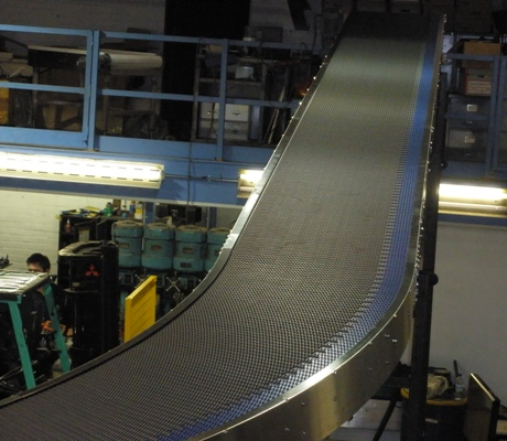 intralox modular belting conveyor