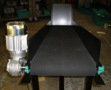 Grip Faced Belt Conveyor