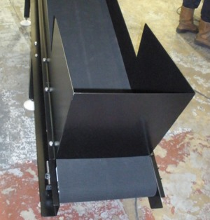 Painted Non Slip Belt Conveyor
