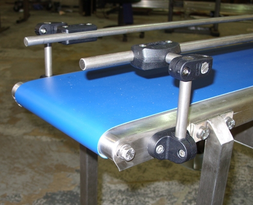 nose over mini belt conveyor