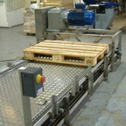 Wood Pallet Chain Conveyor