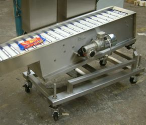 light weight conveyor made fully portable