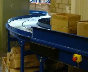 powered roller factory conveyor