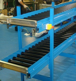 Two Tiered Conveyor Rollers