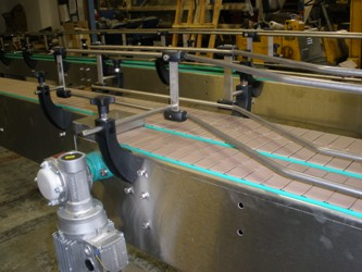 Conveyor to transport whisky