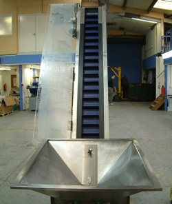 Small incline conveyor image