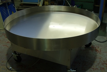 Rotary Turntable for cereal
