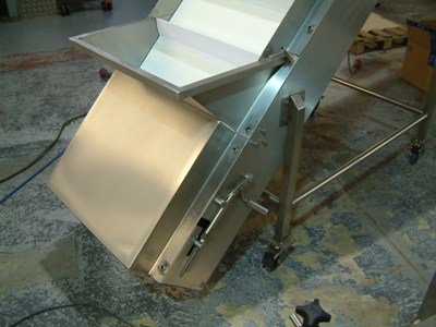 Portable Conveyor Incline ~ C-Trak Case Study