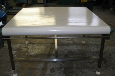 wide flat belt conveyor belt
